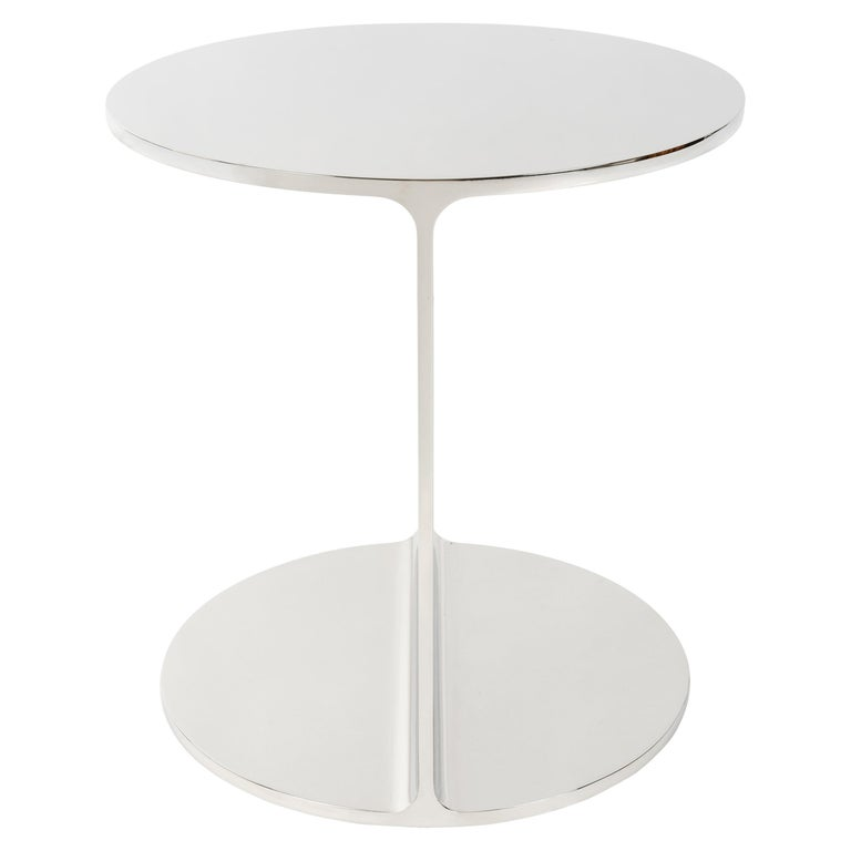 Round I Beam Table For Sale