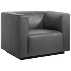 Living Landscape Leather Armchair