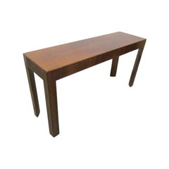 Italian Walnut Console Table