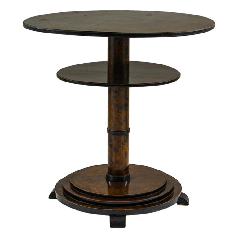 Swedish Art Deco Coffee or Side Table For Sale