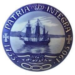 Royal Copenhagen Commemorative Plate from 1905