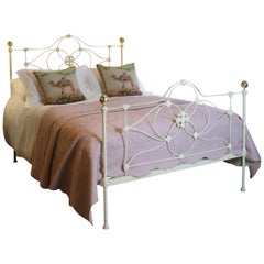 Mid Victorian Bed in Cream MK162