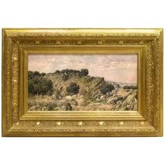 """Torrelodones landscape"", Oil on Canvas, José Franco Cordero"