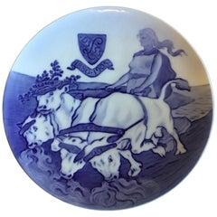 Royal Copenhagen Commemorative Plate from 1905 RC-CM54