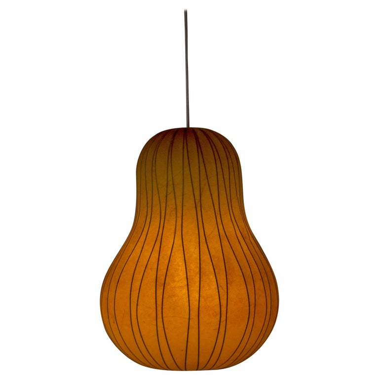 Midcentury Resin Cocoon Lamp by Hans Bergström For Sale
