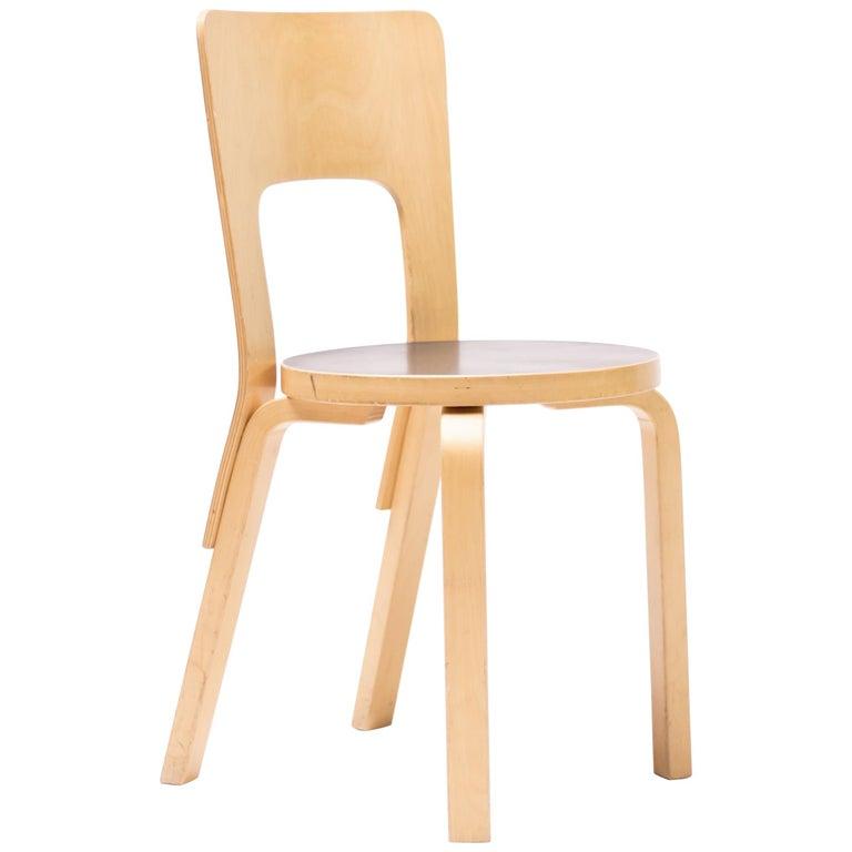 Alvar Aalto Model 66 Chairs For Sale