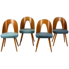 Dining Chairs by Antonin Suman for Tatra, 1960s, Set of Four