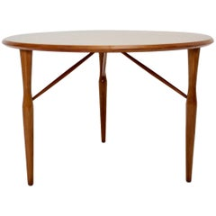 Mid-Century Modern Cherrywood Coffee Table by Josef Frank attributed Sweden 1950