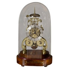 Victorian Double Fusee Skeleton Clock by John Greenhalgh, Manchester