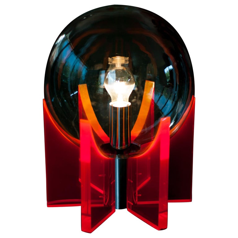 Lucite Light For Sale