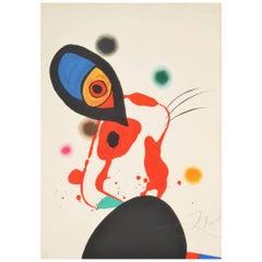 """Joan Miró, """"L'Eununque Impérial,"""" original lithograph, signed"""