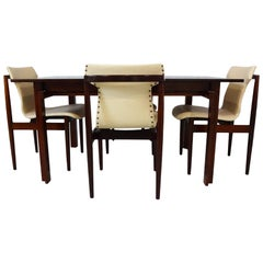 Dining set - Danish Midcentury teak table & chairs by Inger Klingenberg