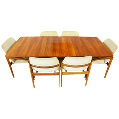 Space Saving Dining Set - Danish Midcentury by Kai Kristiansen & Nils Jonsson