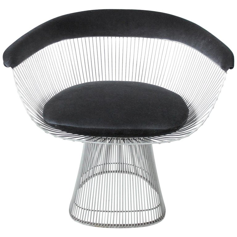 Original 1970s Edition Armchair Designed by Warren Platner for Knoll, 1966 For Sale