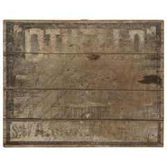 Large Early American Sign, circa 1900