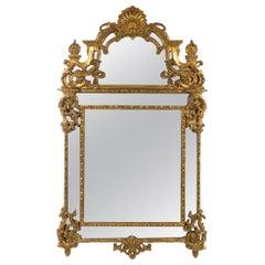 19th Century Regency Style Giltwood Mirror