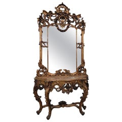 Regency Pier Mirrors and Console Mirrors