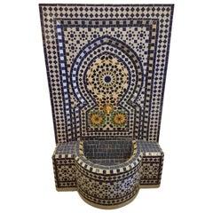 Rabat Moroccan Mosaic Fountain, All Mosaics