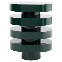 Aglaé Tiered Side Table in Glossy Lacquer, by Joris Poggioli