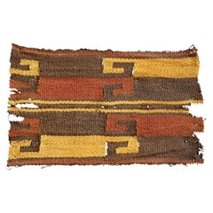 Vibrant Inca Pre-Columbian Textile Peru Ad Ex Ferdinand Anton, circa 1400-1532