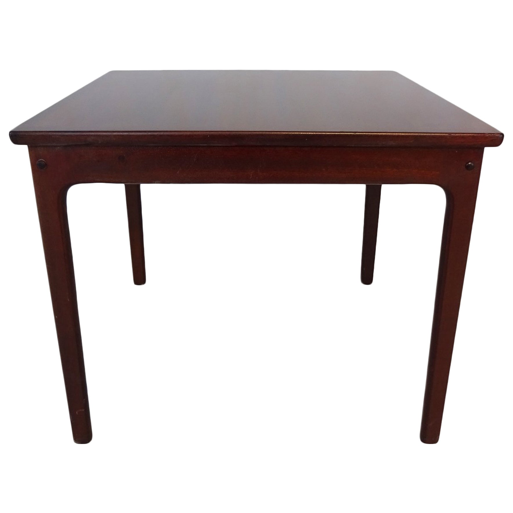 Danish Midcentury Coffee or Side Table by Ole Wanscher