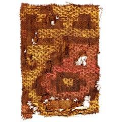 Vivid Chimu Pre-Columbian Textile, Peru, circa 1100-1400 AD, Ex Ferdinand Anton
