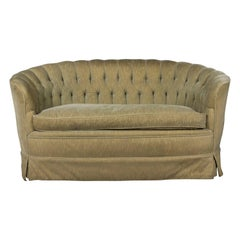 1960s Tufted Sofa with Loose Seat Cushion