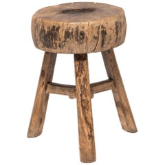 19th Century Chinese Cabbage Block Stool