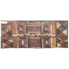 Igbo Painted Uli Door