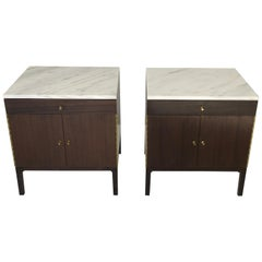 Paul McCobb Marble-Top Nightstands