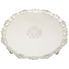 Georgian Sterling Silver Salver by John Tuite