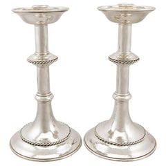 1949 Sterling Silver Alter Candlesticks