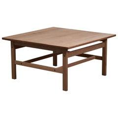 Vintage Solid Oak Coffee Table by Kurt Østervig for KP Møbler
