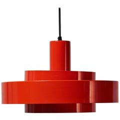 Vintage Equator Lamp by Johannes Hammerborg for Fog & Mørup