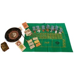 1950s Vintage French Roulette Game