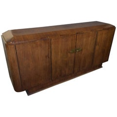 French 1930s Art Deco Rosewood Sideboard