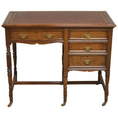 Victorian Walnut Antique Desk