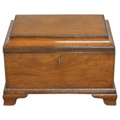 Georgian Mahogany Small Antique Cellarette