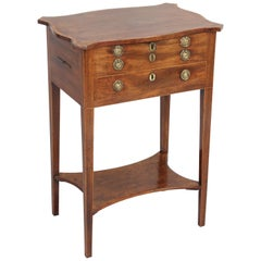 George III Period Mahogany Worktable