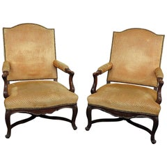 Pair of Country French Armchairs