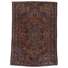 Classic Heriz Carpet, circa 1940s