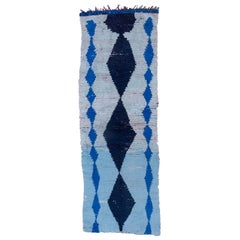 Blue Moroccan Runner