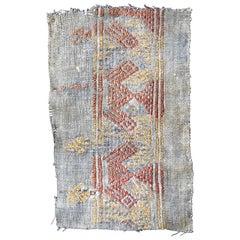 Cubist Chancay Pre-Columbian Textile, Peru, 1100-1420 AD - Ex Ferdinand Anton