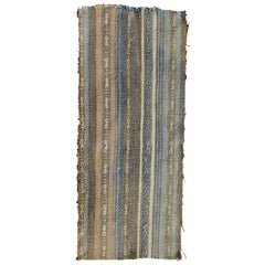 Striped Inca Pre-Columbian Textile, Peru, circa 1400-1532 AD, Ex Ferdinand Anton