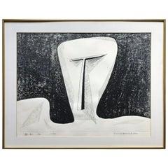 Tomio Kinoshita Woodblock Print, 1970