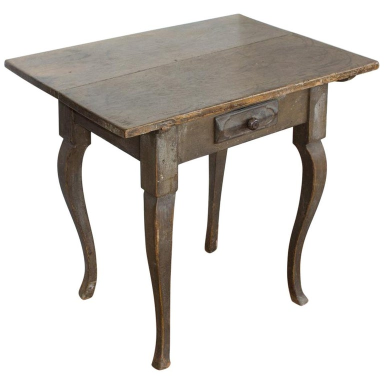 Antique French Louis XV Side Table For Sale
