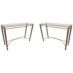 Pair of Midcentury Console Tables