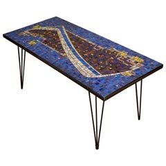 Mosaic Cocktail or Coffee Table