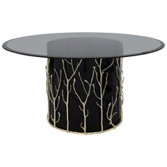 Koket Enchanted II Dining Table in Glass Top