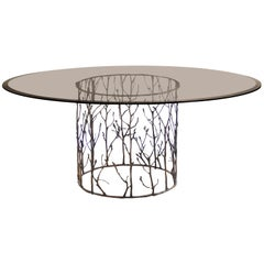 Koket Enchanted I Dining Table in Glass Top